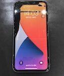 """【放置厳禁】iPhoneXRにインクをこぼしたような""""液晶漏れ""""が…。『まだまだ使えるよね?』はダメ!絶対!"""