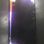 """【銀座通りでiPhone修理】突如画面に黒い""""シミ""""が現れたiPhoneXも即日で修理致します!!"""