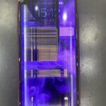 【iPhoneXR】画面が紫色に変色したけど・・・画面修理で改善できる?