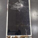 【iPhone7plus】画面バキバキでパネルが取り外れてしまいそうなiPhone7Plusを即日修理♪