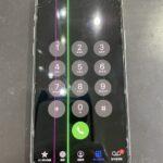 【iPhone11Pro】液晶画面に緑やピンクの縦線が入っている?スマップル熊本店が即日修理致します!!